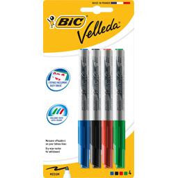 BIC 4  Removable medium flets Velleda / Crayon ardoise Velleda