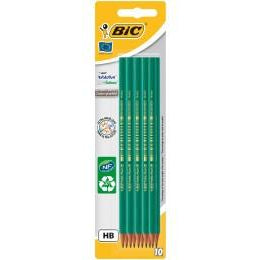 BIC EVOLUTION 10 pencil HB graphites/ Crayon a papier HB