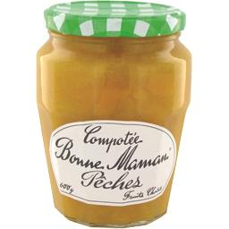 BONNE MAMAN Peach Compote - TheLittleMart.com