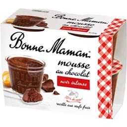 BONNE MAMAN Chocolate Mousse Intense FROZEN