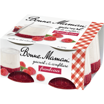 BONNE MAMAN Raspberry Yogurt