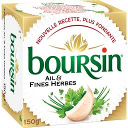 BOURSIN Garlic & Fine Herbs Gournay Cheese | Boursin Cheese - TheLittleMart.com