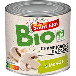 Champignon de Paris Bio / Organic sliced button mushroom SAINT ELOI