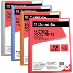 Porte vue 80 vues A4 - 21 x 29.7 cm  /  80 views Document holder DOMEDIA - TheLittleMart.com