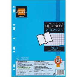 Copies Doubles Perforées A4 SEYES /  Double sheets  DOMEDIA - TheLittleMart.com