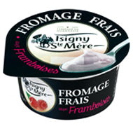 Yaourt / Fromage Frais 6.5% with Raspberries ISIGNY STE MERE