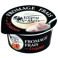 Yaourt / Fromage Frais 6.5% with Strawberries ISIGNY STE MERE