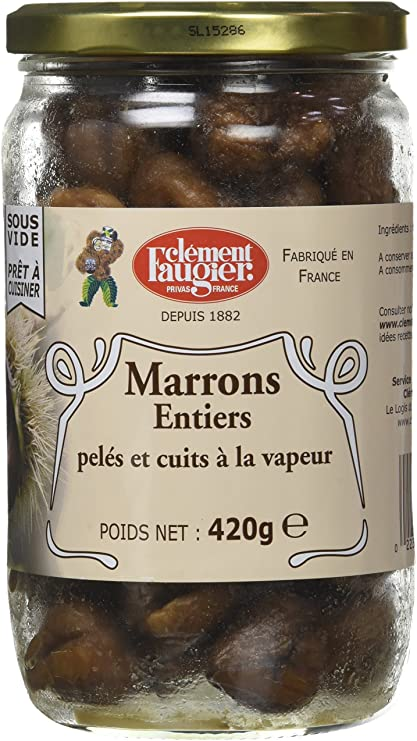 Marrons Entier / Whole chestnuts FAUGIER