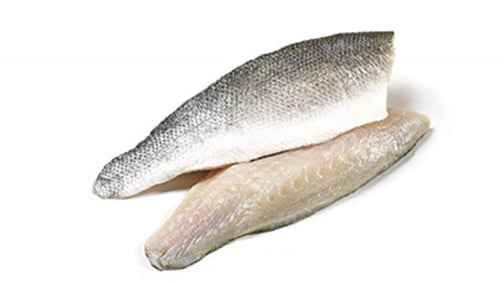 Filets de Bar avec peau sans arrêtes surgelés / Frozen Sea Bass fillet with skin without bones x 2 - TheLittleMart.com