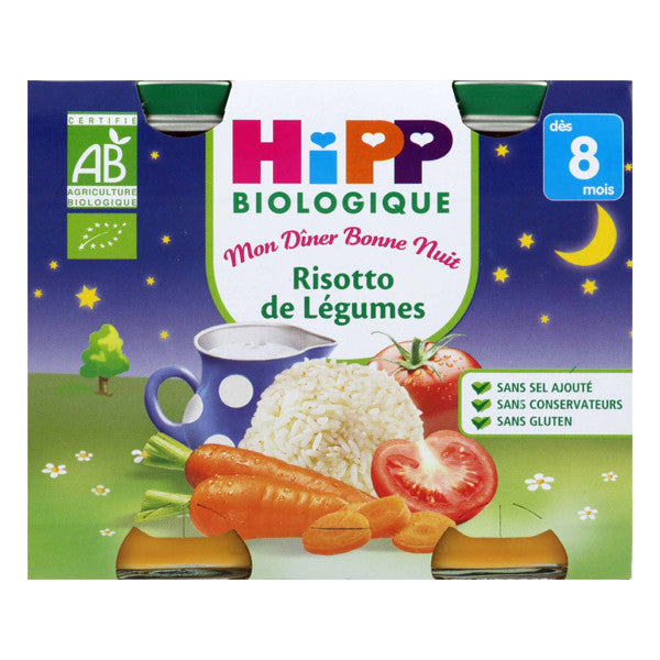 HIPP Organic vegetables Risotto