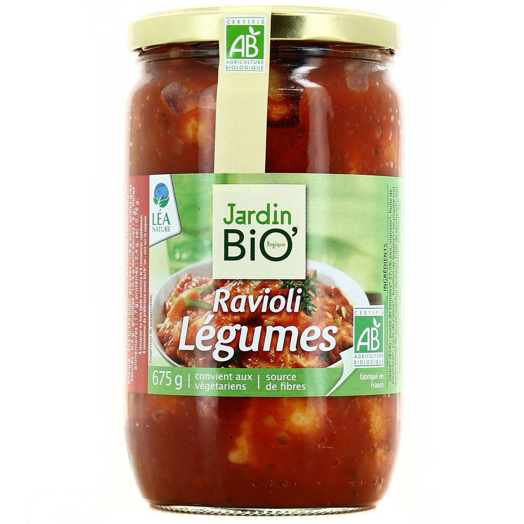 JARDIN BIO  Organic Vegetables ravioli