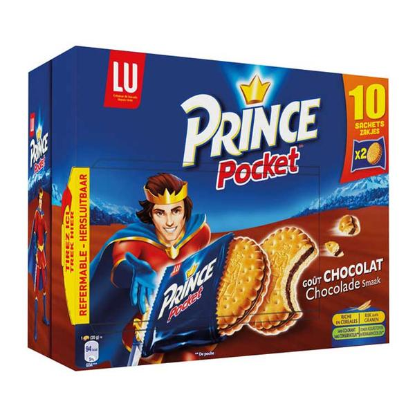 LU Prince Pocket Chocolate Biscuits - TheLittleMart.com