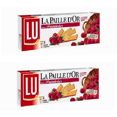 LU Paille d'or Raspberry X 2 (1 BUY 1 FREE)