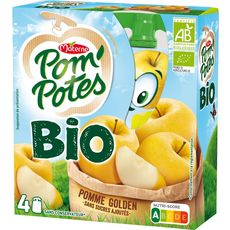 MATERNE Pom'Potes Pomme Golden BIO / Organic Golden Apple Pocket