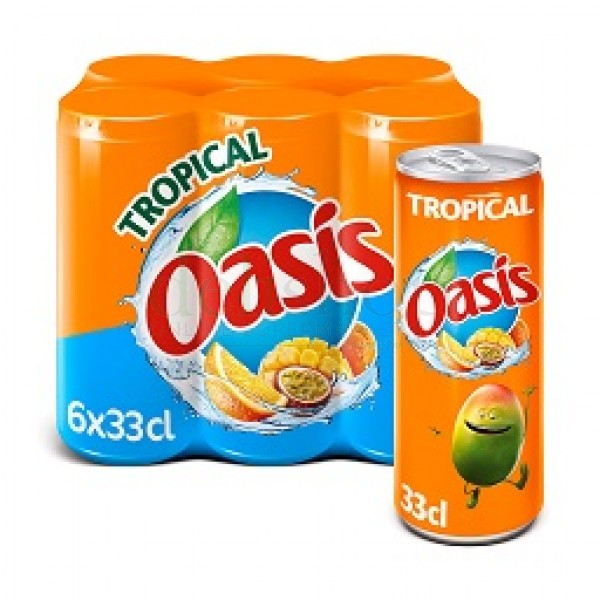 OASIS Tropical Canettes / Oasis Tropical Cans