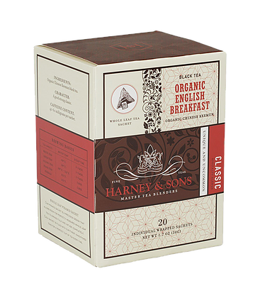 Organic English Breakfast -  HARNEY & SONS - TheLittleMart.com