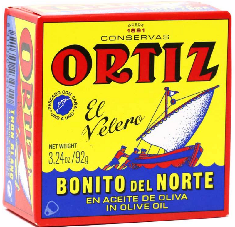 Ortiz Thon a l'huile d'olive /  Tuna In Olive OiI - TheLittleMart.com