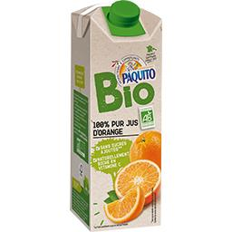 PAQUITO Jus d'orange Bio / Organic Orange Juice - TheLittleMart.com