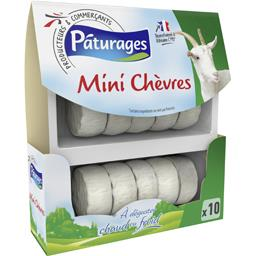 PATURAGES 10 mini chèvre / 10 mini Goat Cheese FROZEN