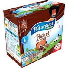 PATURAGES Chocolate Milk Pocket
