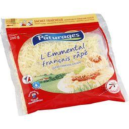 PÂTURAGES Grated Emmental cheese ZIP / FROZEN