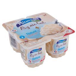 PÂTURAGES Riz au Lait Nature