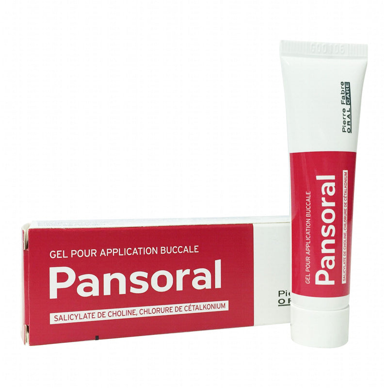 PANSORAL gel pour application buccale