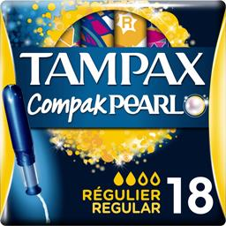 TAMPAX PEARL Tampons Regular x 18 - TheLittleMart.com