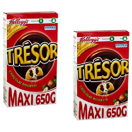 Tresor Cereals Nuts & Chocolate X 2