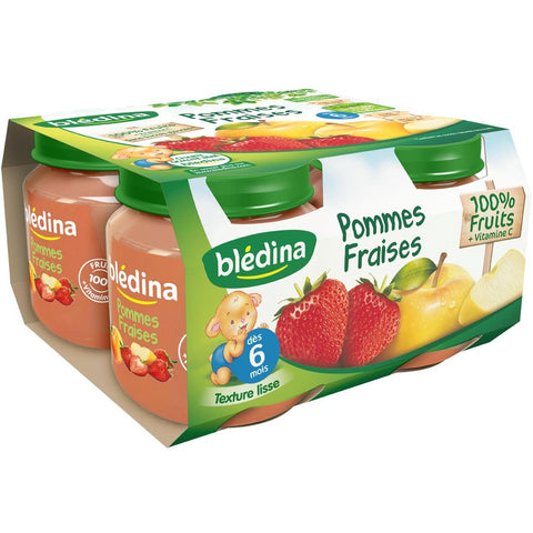 Blédina Apple Strawberry