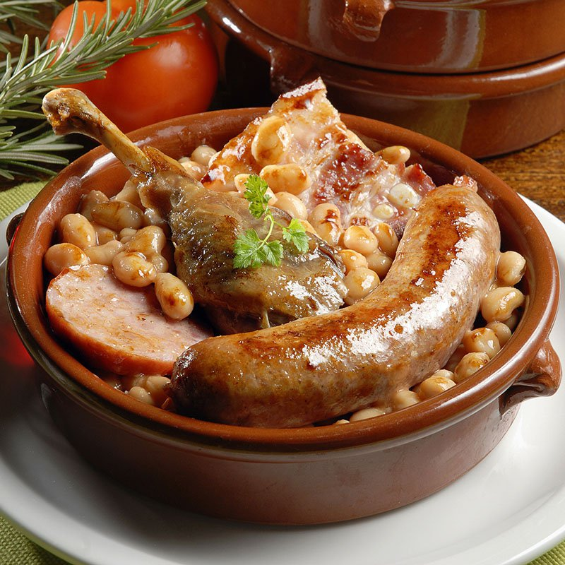 CASSOULET Surgelé 1 personne /  Frozen Cassoulet 1 pax Ready to eat ( NON HALAL) by French Feast - TheLittleMart.com