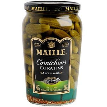 MAILLE Extra Thin & Crackling Pickles/ Cornichons extra fins - TheLittleMart