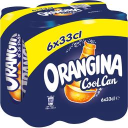 Orangina Can 6x 33cl