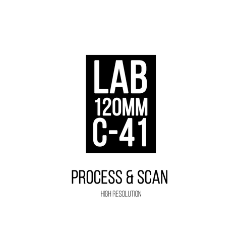 120mm | C-41 | Process & Scan (high resolution TIFF)