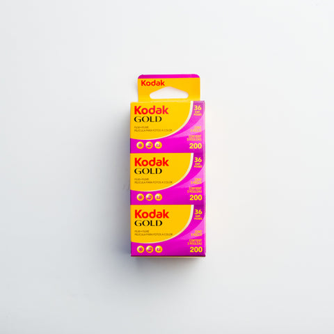 Kodak Gold 200 35mm (3 pack)