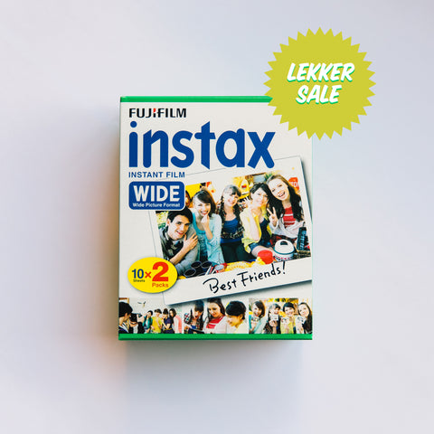 Fujifilm INSTAX Wide (20 sheets)