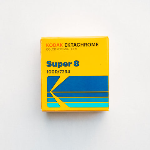 Kodak Ektachrome 100D Color Transparency Film Super 8mm