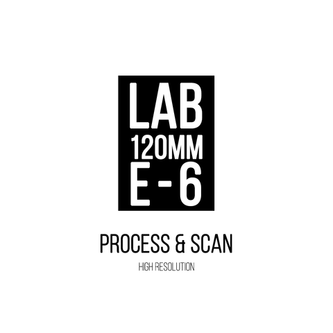120mm | E6 | Process & Scan (high resolution TIFF)
