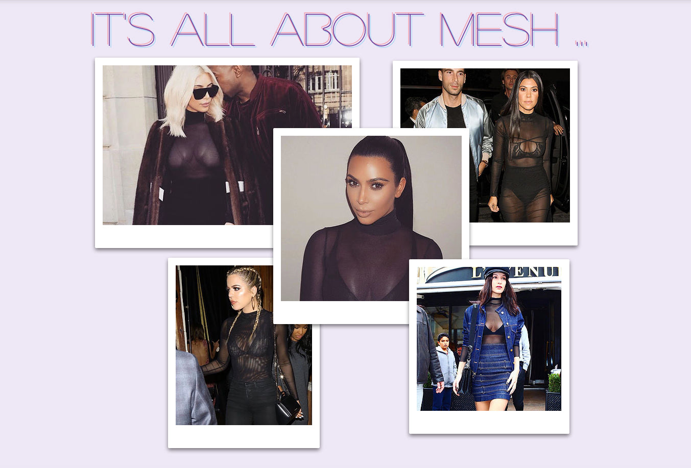 It's all about Mesh ...