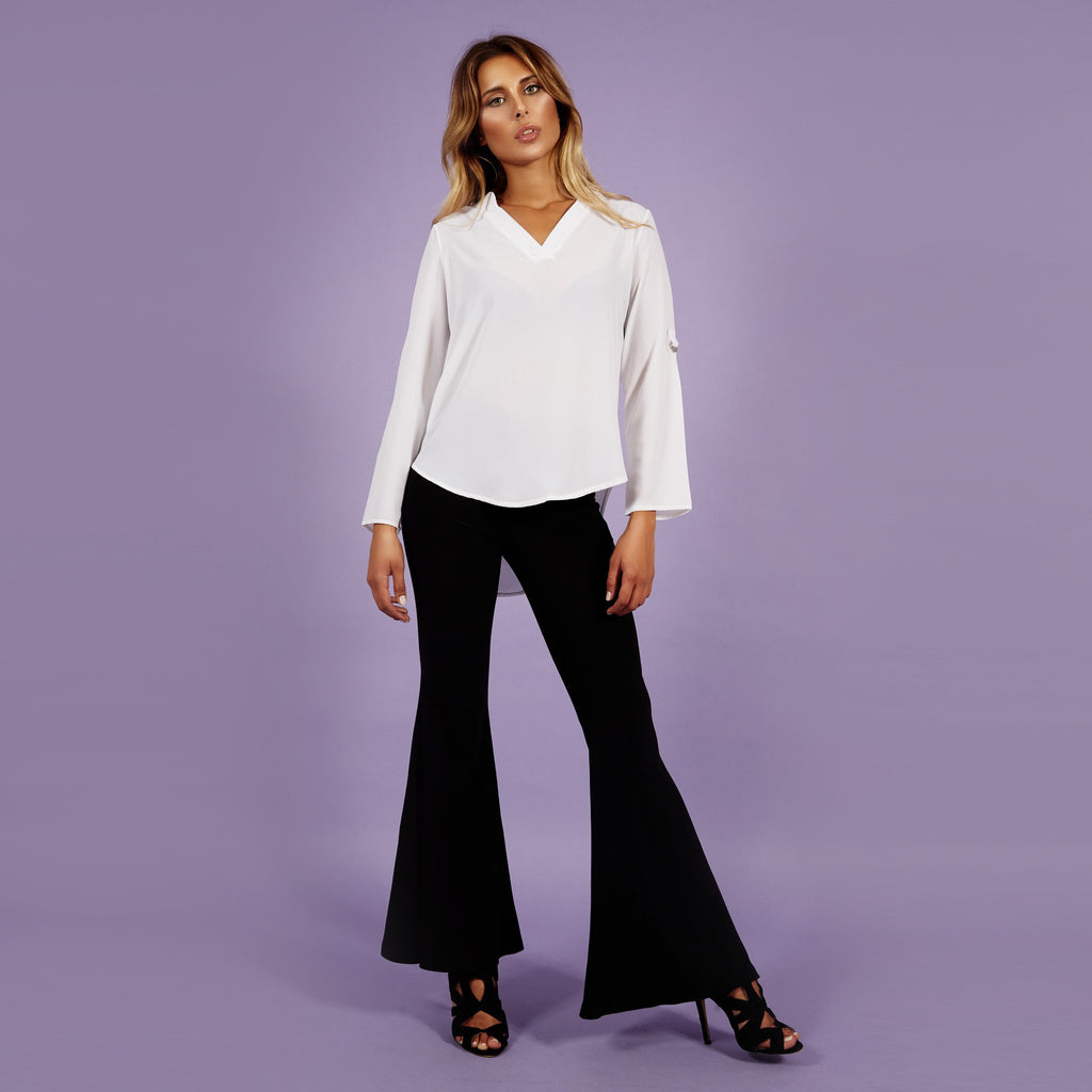 'Lara' Blouse White