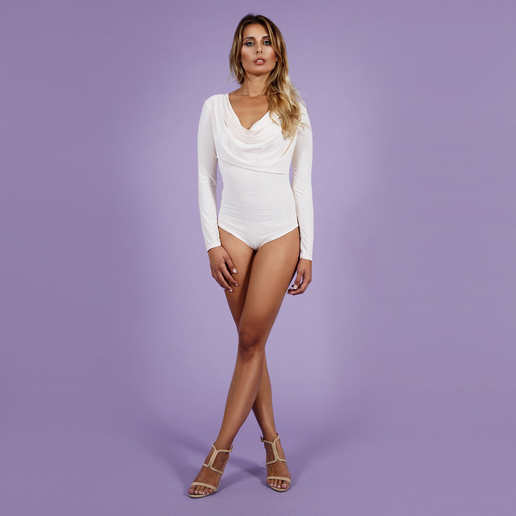 'Serena' Bodysuit Rose