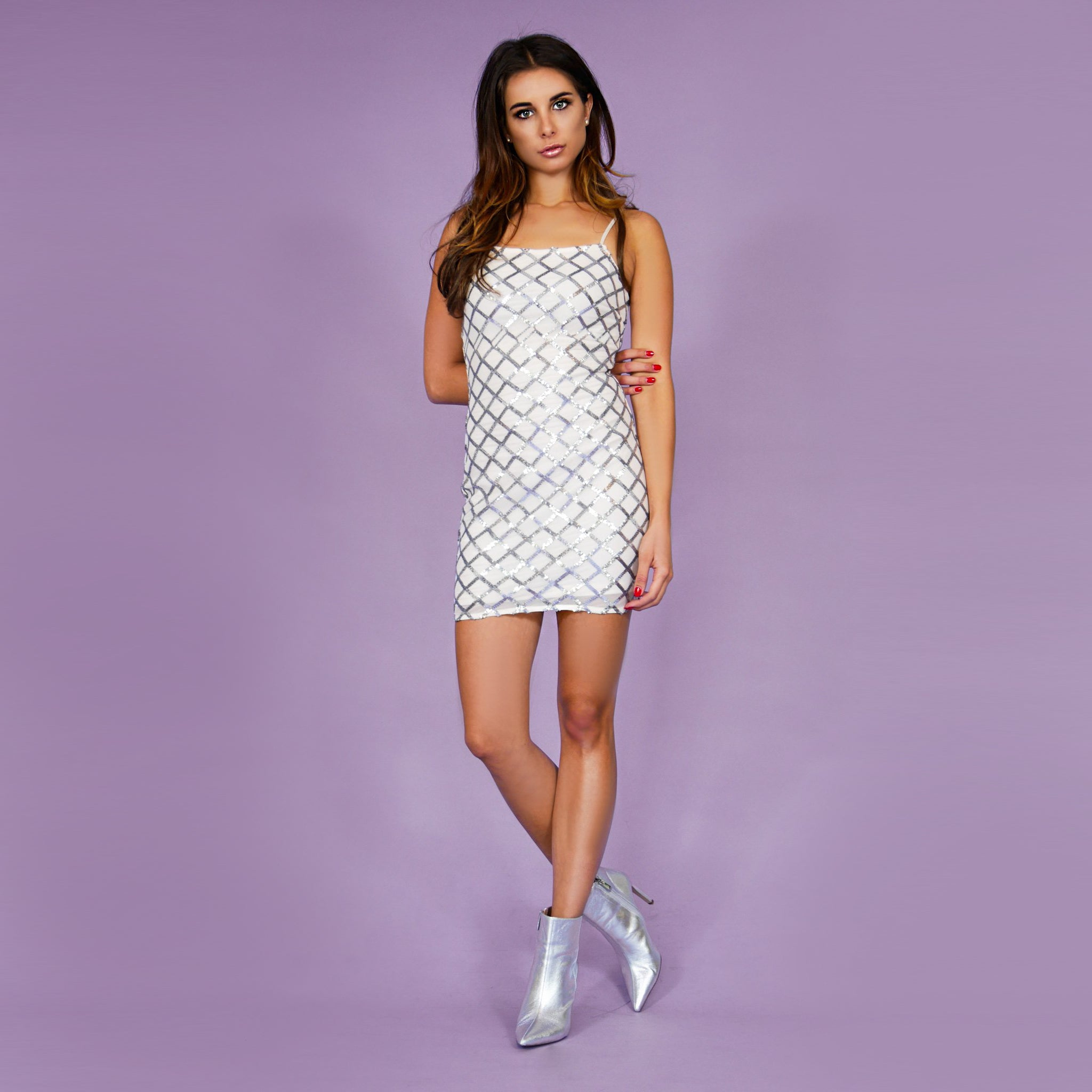 'Candy' Dress White