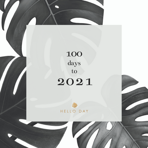 100 Days to 2021 - Hello Day