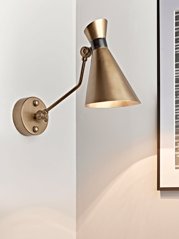 Cox and Cox UK Wall Lighting - Hello Day Planner