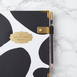 MINIMAL 2020 Daily Planner: CURVE