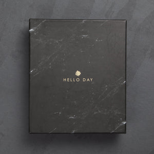 Decorative Box: Black Marble