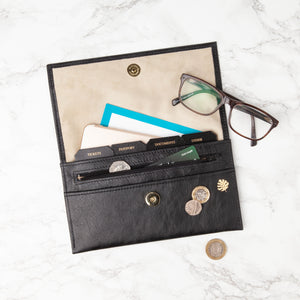 Luxury Leather Travel Organiser