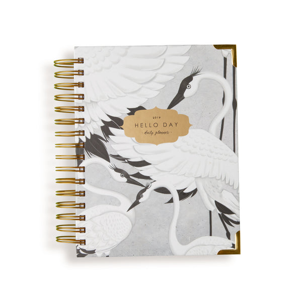 2019 - 2020 MID YEAR DAILY PLANNER: FLOCK