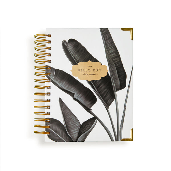 2019 - 2020 ACADEMIC / MID YEAR Daily Planner: TROPIC