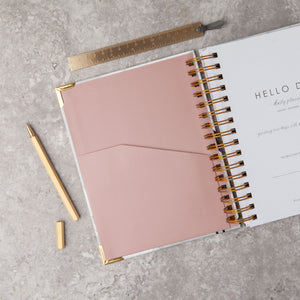 MINIMAL 2019 Daily Planner: FLOCK